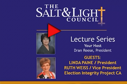 Salt and Light Lecture